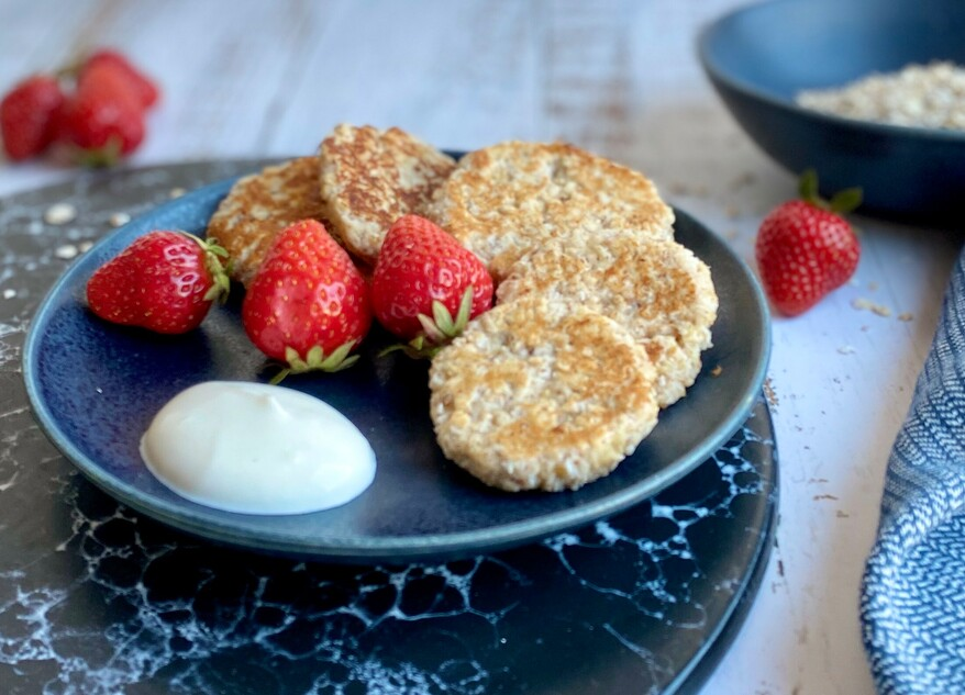 Picture Oatmeal quark cookies