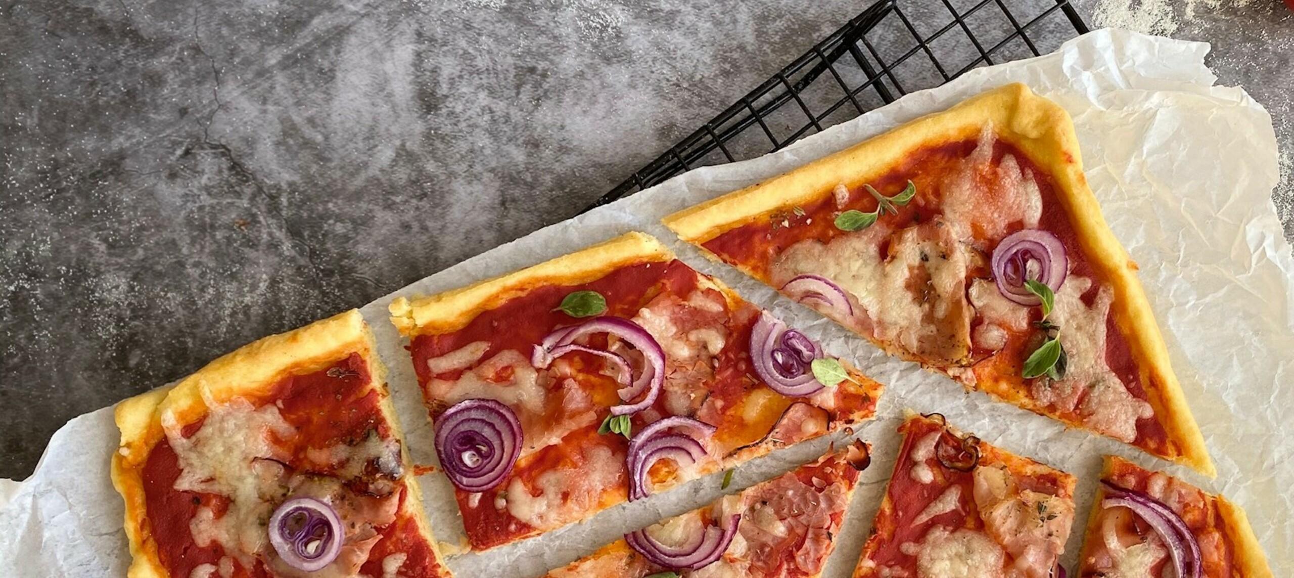 Quark-Öl-Pizzateig