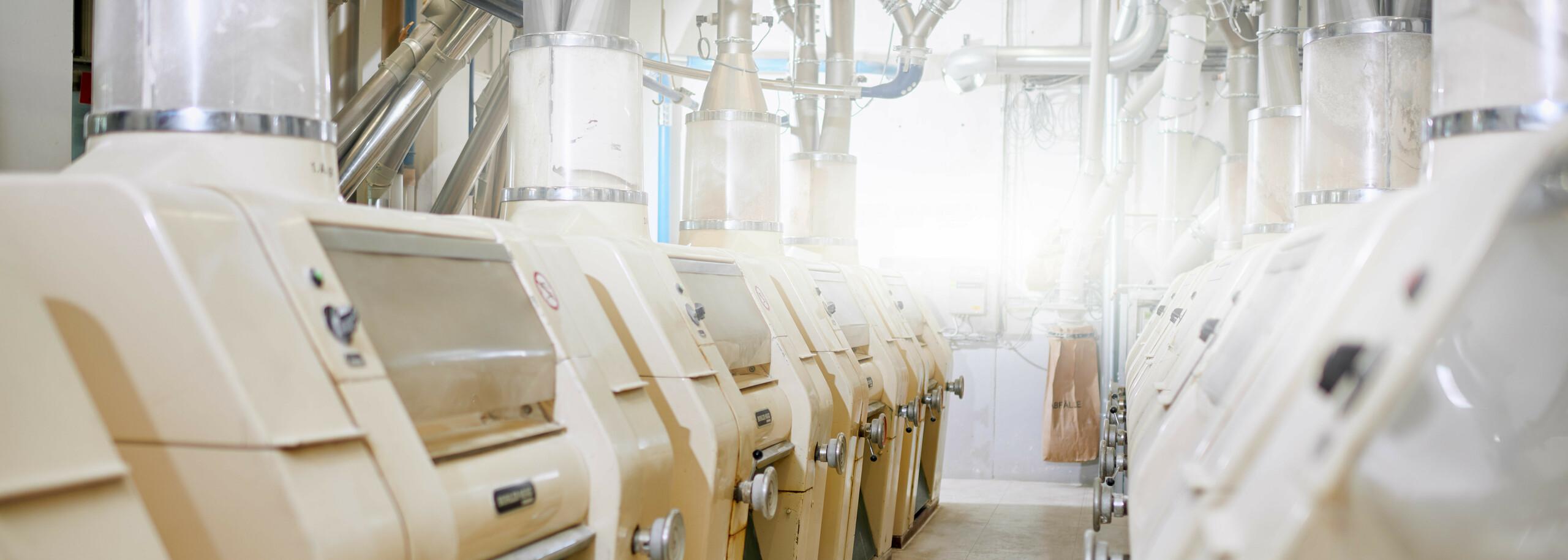 Abbildung Walzenstühle Mühle