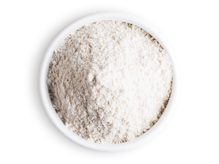 Picture barley flake flour
