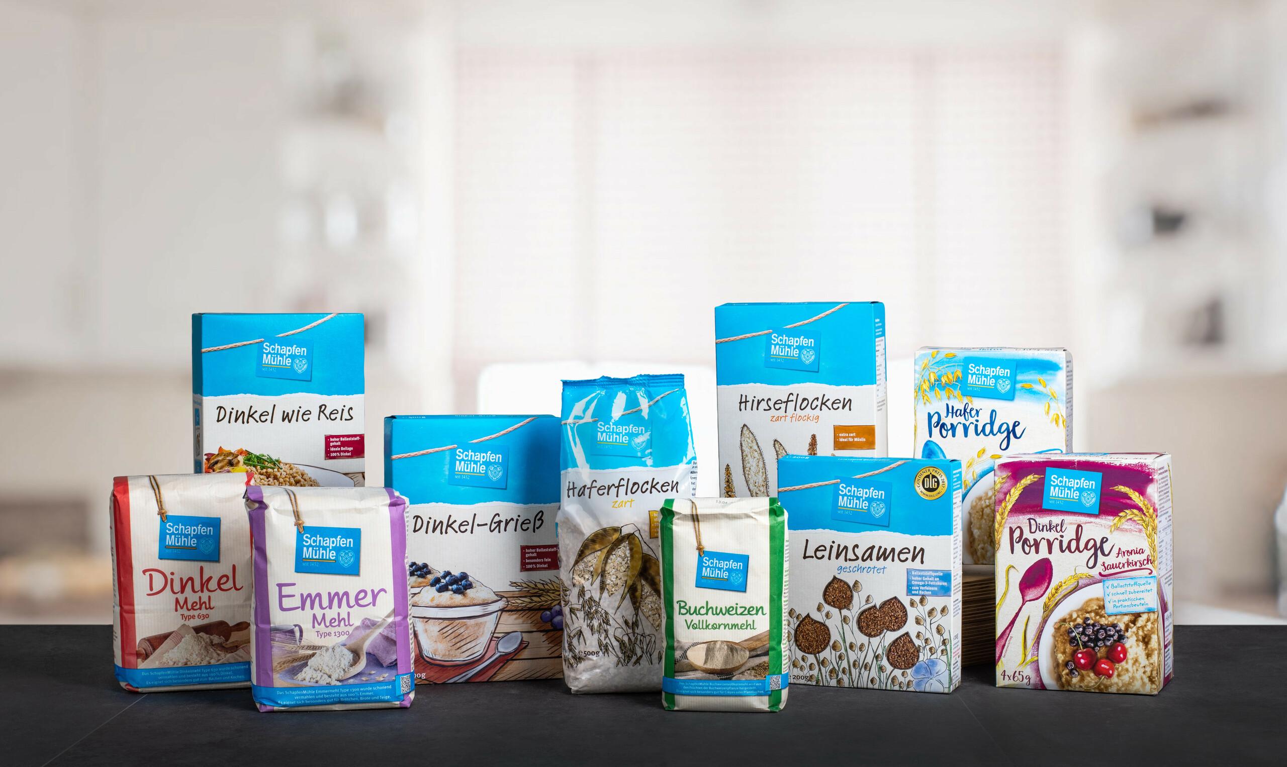 Picture product range SchapfenMühle