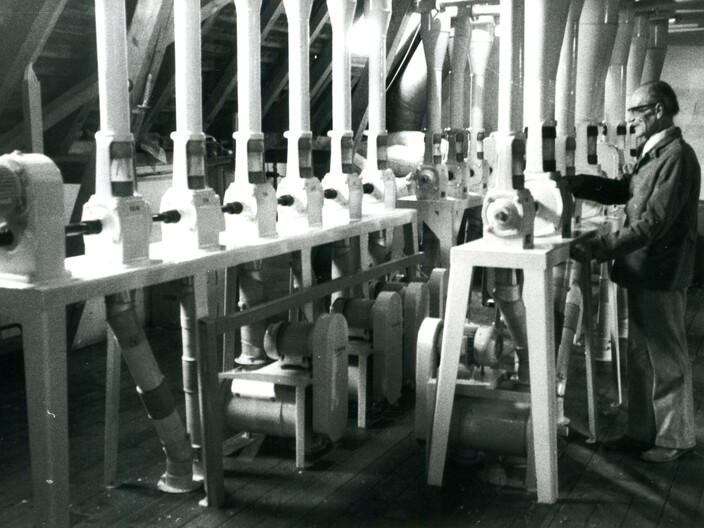 Abbildung historische Mehlmühle