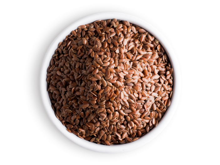 Picture whole flax seed