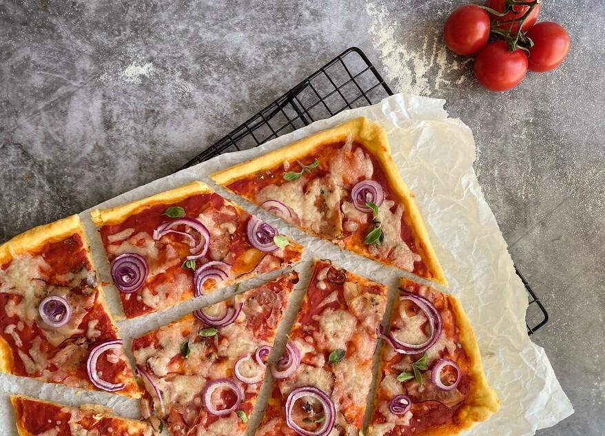 Abbildung Quark-Öl-Pizza