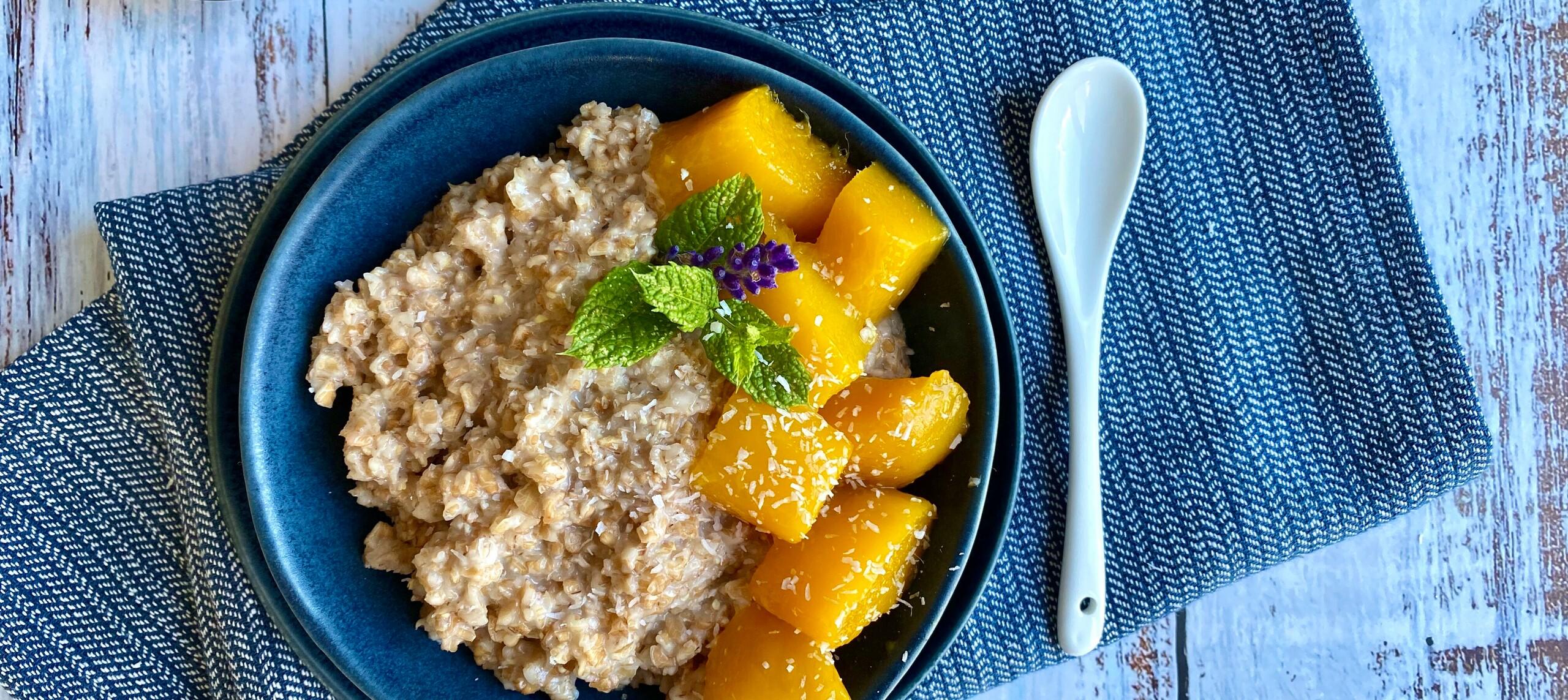 Abbildung Dinkelflocken Porridge