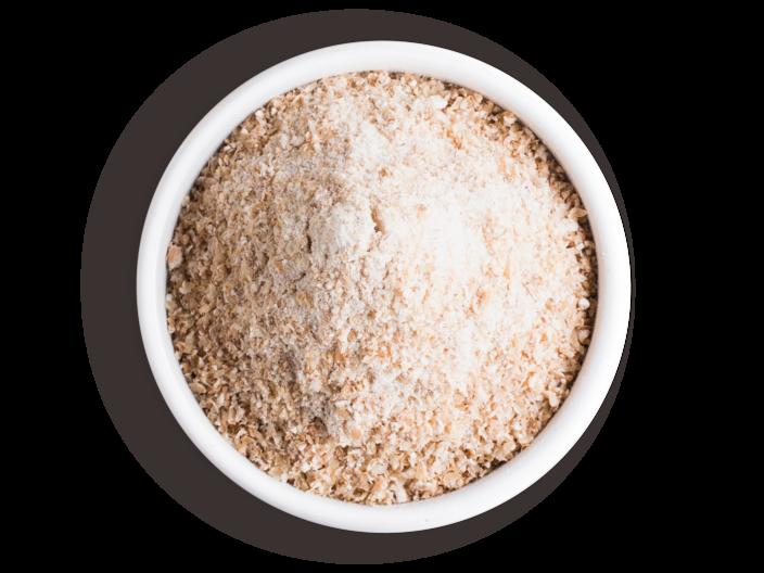 Picture wheat meal medium-coarse